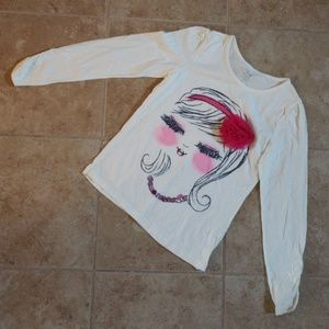 The Childrens Place Diva Long sleeve Top